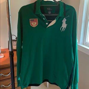 Polo Ralph Lauren 3 button rugby shirt